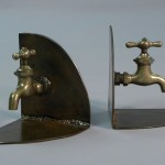 bookends Steampunk