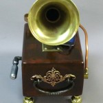 gramophone-horn