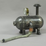 Steampunk hard disk boilers