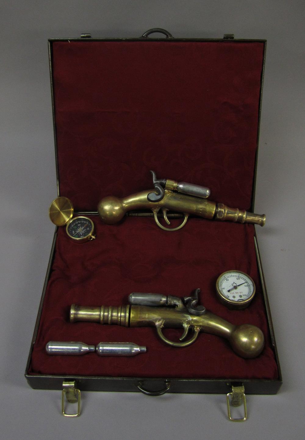 Steampunk pistols