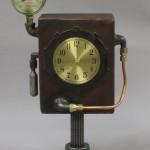 steampunk clock time machine